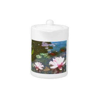 Koi Pond 4-20 Teapot