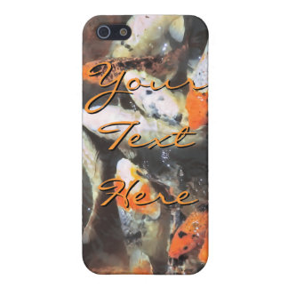 Koi Pond Artistic Photo iPhone SE/5/5s Case