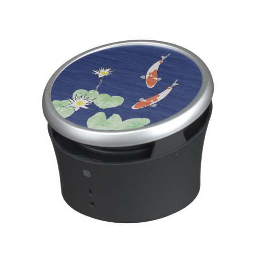 Koi Pond Bluetooth Speaker Zazzle