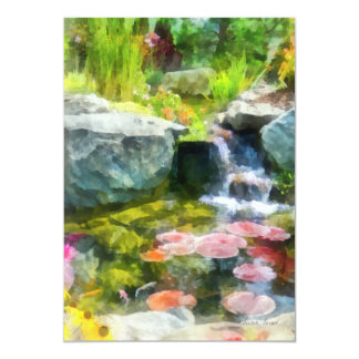 Koi Pond Card