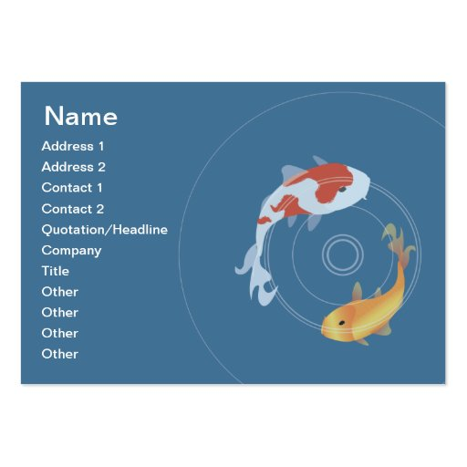 10 000 fishing business cards and fishing business card for Fish pond business