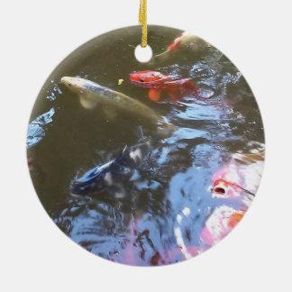 Koi Pond Circle Ornament