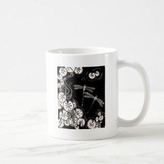 koi pond classic white coffee mug