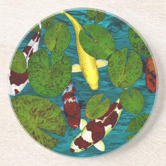 KOI POND Coaster