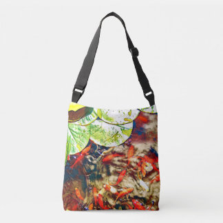 Koi Pond Crossbody Bag