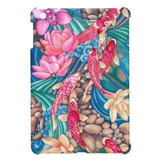 Koi Pond Gossy iPad Case