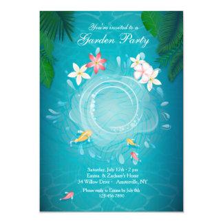 Koi Pond Invitation