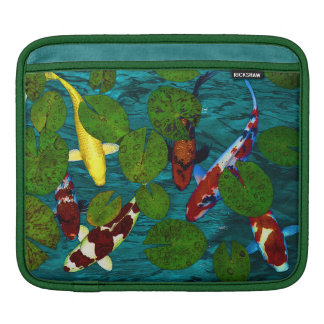 KOI POND iPad Sleeve