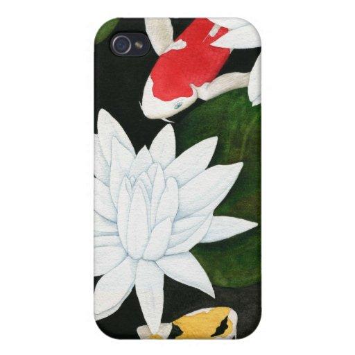 Koi Pond iPhone 4 Cases