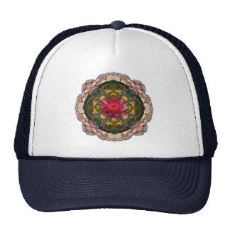 Koi pond kaleidoscope trucker hat