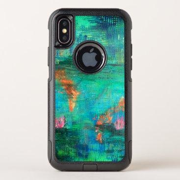Koi Pond OtterBox Commuter iPhone XS Case