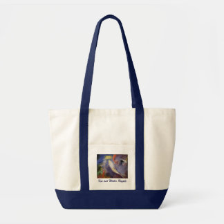 Koi Pond Painting Tote Bag