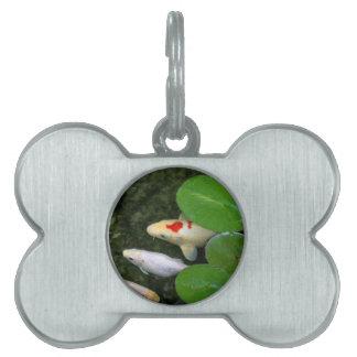 Koi Pond Pet ID Tag