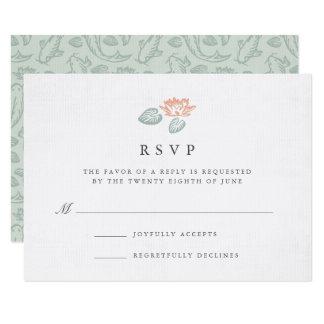 Koi Pond RSVP Card