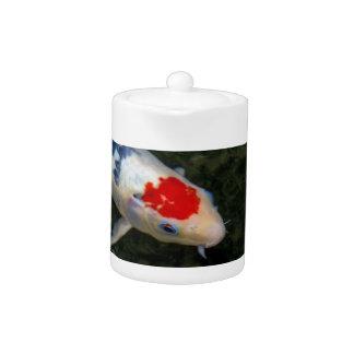 Koi Pond Teapot