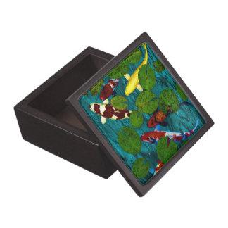 KOI POND Trinket Box