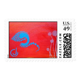Koi Postage Stamps