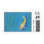 Koi Postage Stamp