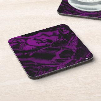 Koi (Purple) Beverage Coaster