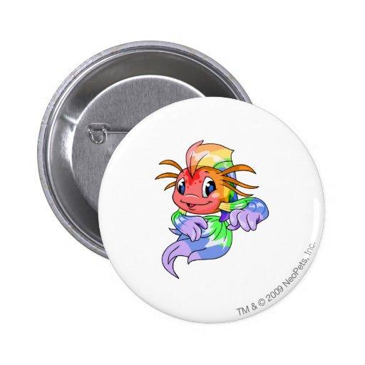 Koi Rainbow Button