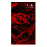 Koi (Red) Double-Sided Standard Business Cards (Pack Of 100)