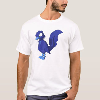 Koi Reptilian Bird - Blueberry T-Shirt