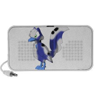 Koi Reptilian Bird - Blueberry/White Bekko/Utsuri Mp3 Speakers