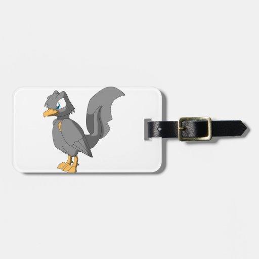 Koi Reptilian Bird - Ginbo Bag Tags