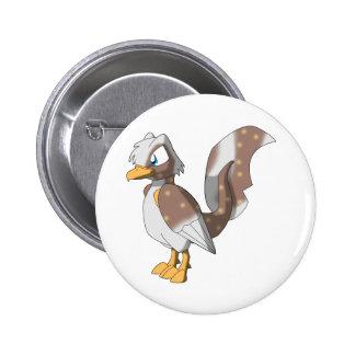 Koi Reptilian Bird - Rocky Road Button
