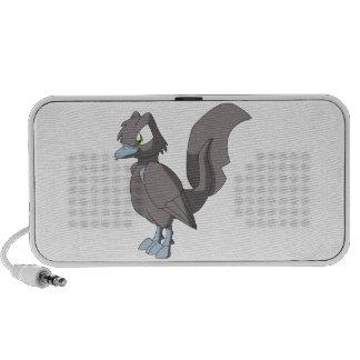 Koi Reptilian Bird - Taupe Gray iPhone Speaker