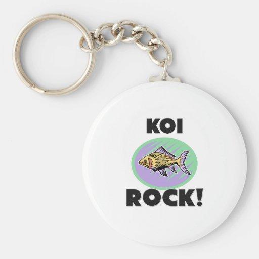 Koi Rock Key Chain