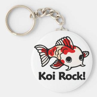 Koi Rock! Keychain