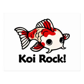 Koi Rock! Postcard