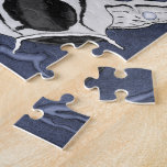 Koi (rojo y negro) puzzle con fotos