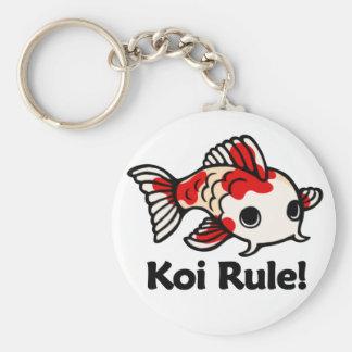 Koi Rule! Keychain