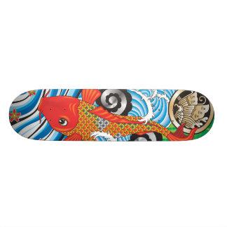 Koi Skate Splash Skateboard