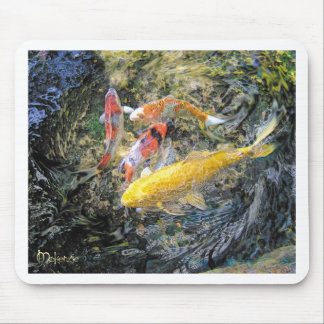 Koi Spin by Artist McKenzie Mouse Pad