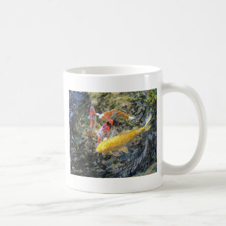 Koi Spin by Artist McKenzie Classic White Coffee Mug