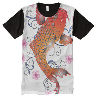 Koi Style All-Over-Print T-Shirt