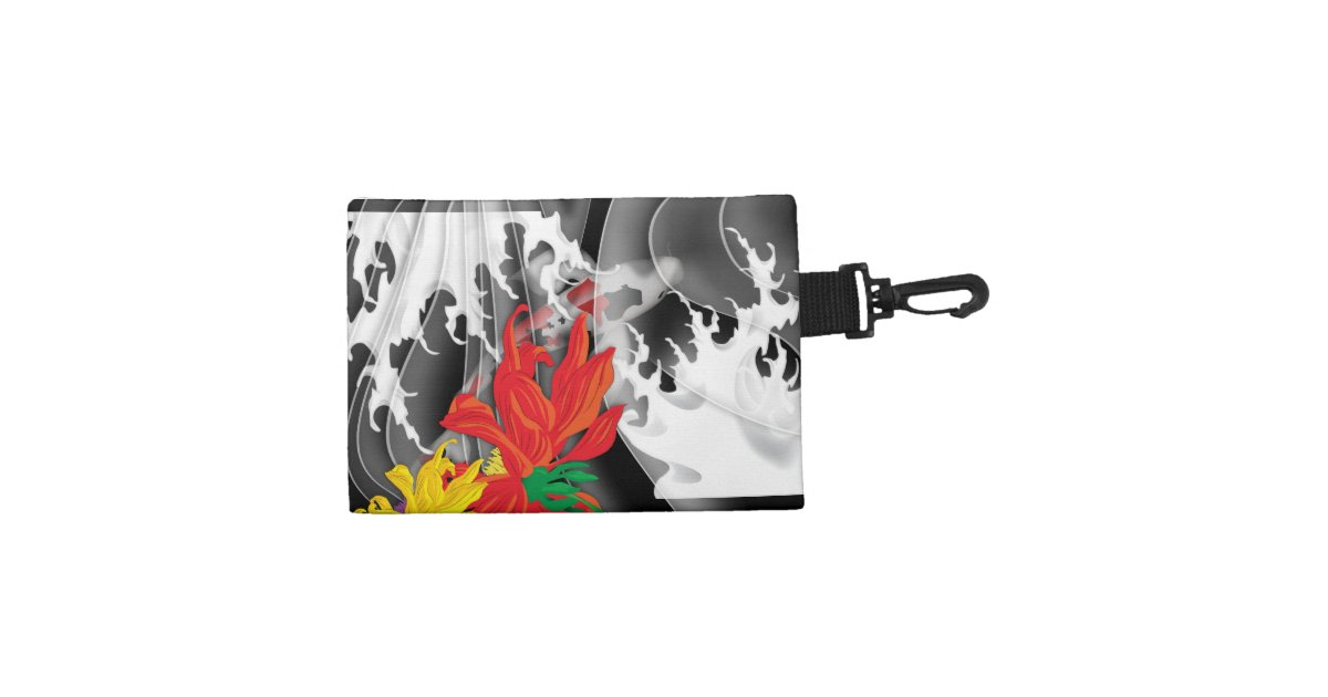 Koi Tattoo Traditional Japanese Design Accessories Bags Zazzle