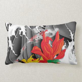 Koi Tattoo: Traditional Japanese Design Pillow