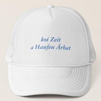 Koi time trucker hat
