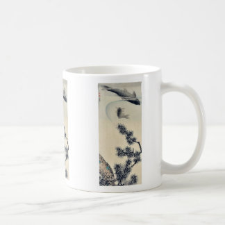 Koi under a pine branch by Maruyama, Okyo Ukiyoe Coffee Mugs