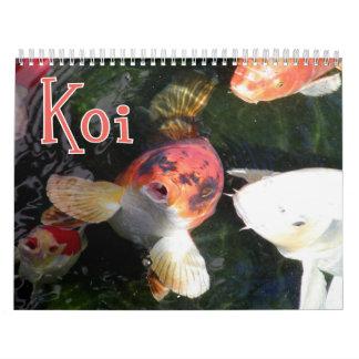 Koi Wall Calendar