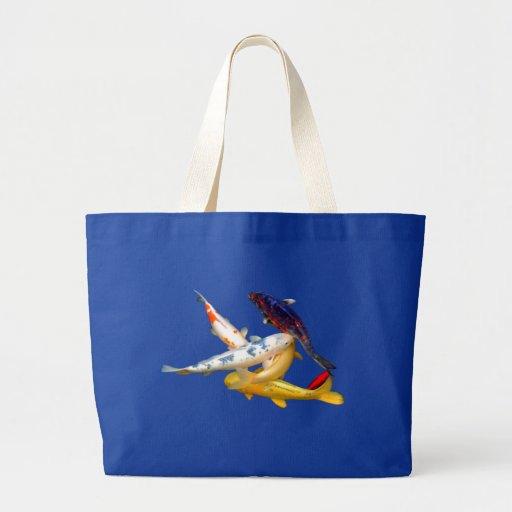 Koi Weave Tote Jumbo Tote Bag