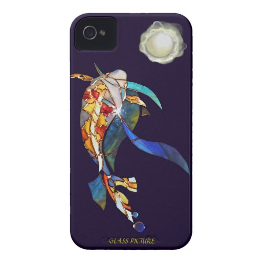 Koi with A Pearl Planet Fantasy Barely There iPhone 4 Case