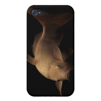 Koi with Black Background Cover For iPhone 4