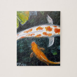 Koi with Lily Pads Puzzle