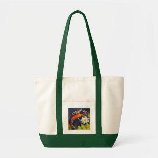 Koi y bolso del lirio de agua bolsa