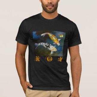 Koi y camiseta de las mariposas